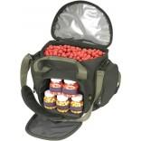 Рибарска чанта за протеинови топчета и бурканчета
